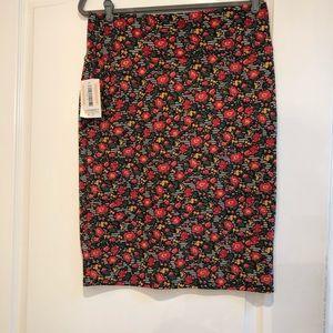 NWT LuLaRoe Cassie floral skirt